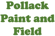 Pollack Paint and Field logo