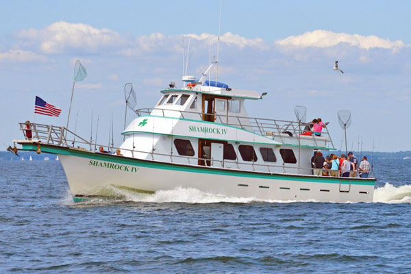 Gone Fishing - Shamrock Charter Boat